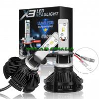 Автолампа LED X3 H4 (50)
