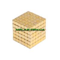 Нео куб Neo Cube золотой квадрат (100)