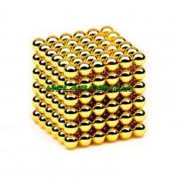 Нео куб Neo Cube 5мм золотой (100)