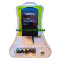 Зарядное устройство универсальное 220V SY-668 (30W) (зелёный блистер)