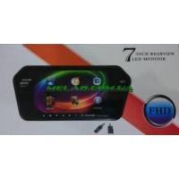 """НЕТУ Монитор-накладка для камеры заднего вида 7"""" 719 BT/USB/TF/MP5 (20)"""