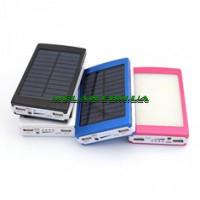 Power Bank с солнечной батареей Camping lamp solar 36000 mAh (100)