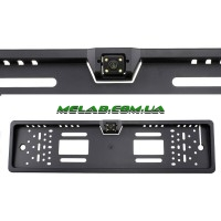 Камера заднего вида рамка 16LED Black с подсветкой номера (20)