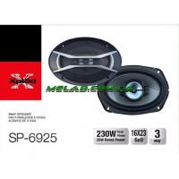 Авто акустика SP-6925 (6\'\'*9\'\', 4-х полос., 1200W) (5)