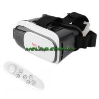 НЕТУ Очки виртуальной реальности VR BOX с пультом (white) (50)