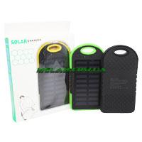 Power Bank с солнечной батареей (решётка, резиновый) 30000 mAh (100)