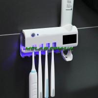 НЕТУ Диспенсер для зубной пасты и щеток автоматический Toothbrush sterilizer (WJ31) (60)