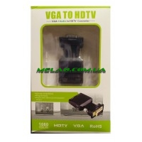 Адаптер VGA/HDMI (HD HDTV) (аудио)