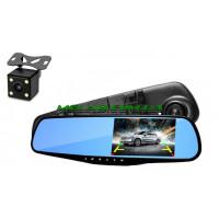 """Зеркало видеорегистратор 1433 (камера - FHD, монитор - 4,3"""") - 2 камеры (25)"""