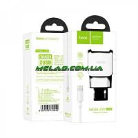 НЕТУ Зарядное устройство 220V HOCO C59A+кабель iPhone-USB