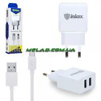 Зарядное устройство 220V INKAX CD-01 + microUSB кабель