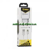 Зарядное устройство 220V INKAX CD-01 + iphone кабель
