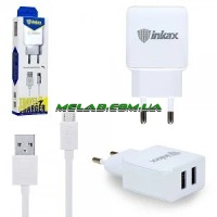 Зарядное устройство 220V INKAX CD-01 + type-C кабель