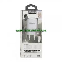 Зарядное устройство 220V INKAX CD-27 + iphone кабель