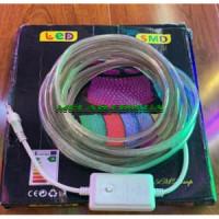 Лента Neon треугольная 10м (RGB) 7195  (20)