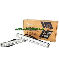 Фара ДХО LED DRL - 9-Y-W  (с поворотом) (40)