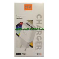 Зарядное устройство 220V HZ MC106 + microUSB кабель